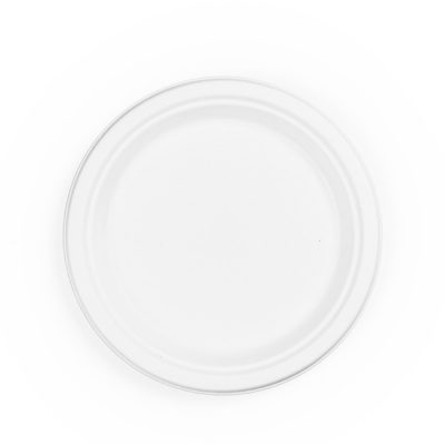 9in source-reduced Bagasse Plate