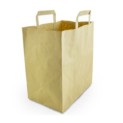 Large Recycled Paper Carrier (10in width)