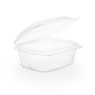 8oz PLA hinged lid deli container