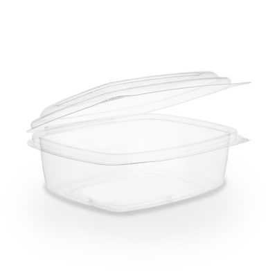 12oz PLA hinged lid deli container