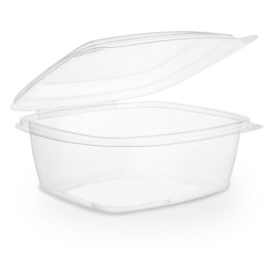 24oz PLA hinged lid deli container