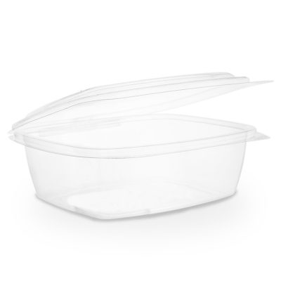 32oz PLA hinged lid deli container