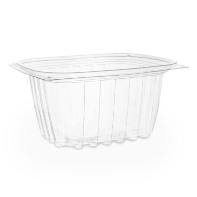 16oz PLA rectangular deli container
