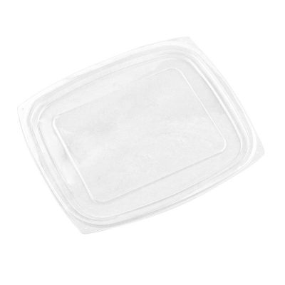 PLA rectangular deli lid (fits 24-32oz deli)