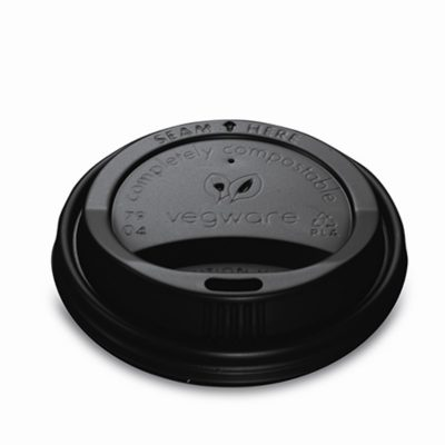 Black CPLA Hot Cup Lid (Fits 79 Series)