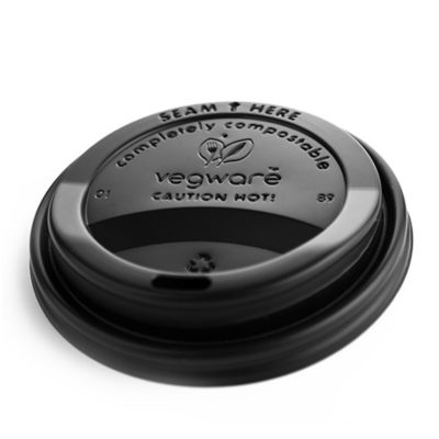 Black CPLA Hot Cup Lid (Fits 89 Series)