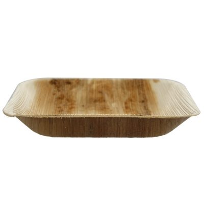 7in Square Palm Plate