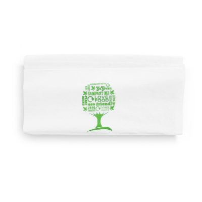 33cm 1-Ply Dispenser Napkin – Green Tree