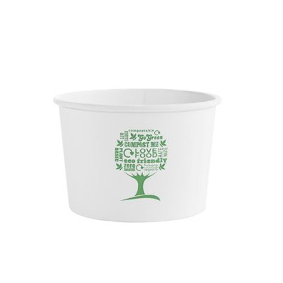 16oz Soup Container, 115 Series – Green Tree