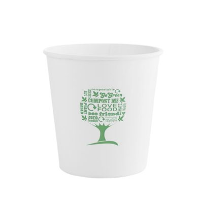 24oz Soup Container, 115 Series – Green Tree
