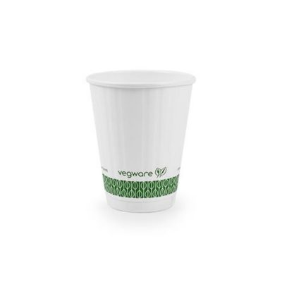 8oz White Embossed Hot Cup 79 series
