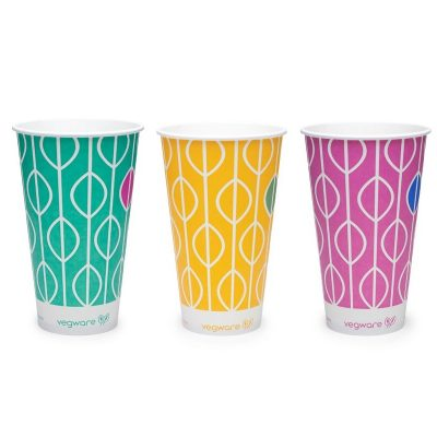 22oz paper cold cup, 96-Series – Hula