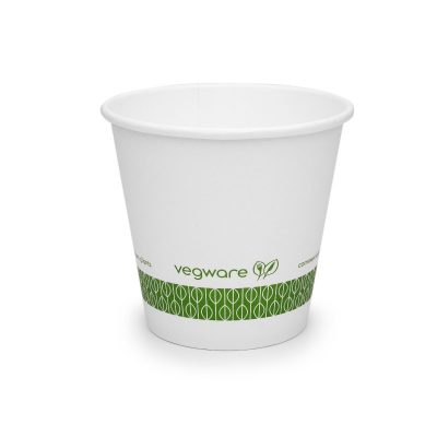 6oz Single Wall White Hot Cup, 79 Series