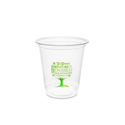 7oz PLA Cold Cup, 76 Series – Green Tree
