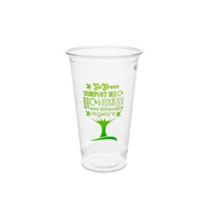9oz PLA Cold Cup, 76 Series – Green Tree