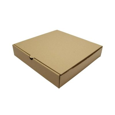 7in Brown Kraft Pizza Box