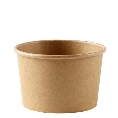 8oz Kraft Heavy Duty Soup Container