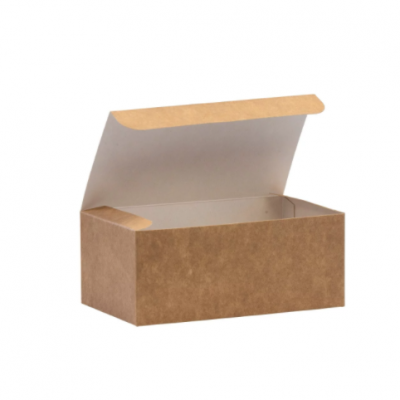 Small Biodegradable Kraft Paper Takeaway Box – Chicken Box / Grazing Box