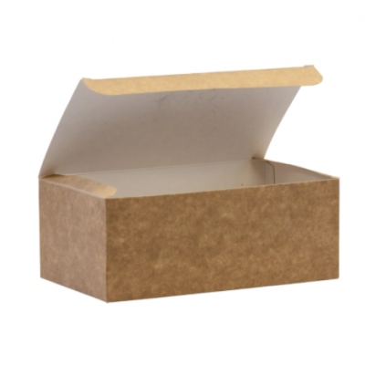 Medium Biodegradable Kraft Paper Takeaway Box – Chicken Box / Grazing Box