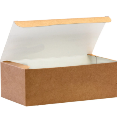 Large Biodegradable Kraft Paper Takeaway Box – Chicken Box / Grazing Box
