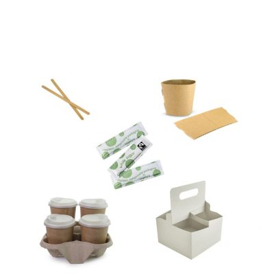 Stirrers, Carry Trays & Sleeves