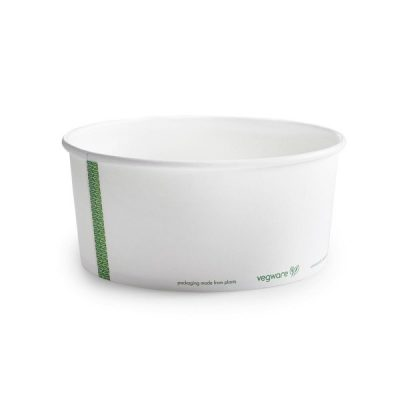 48oz PLA-lined paper food bowl, 185 Series