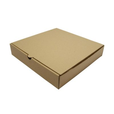 9in Brown Kraft Pizza Box